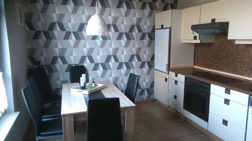 Dining area in the kitchen  Essbereich in der Küche