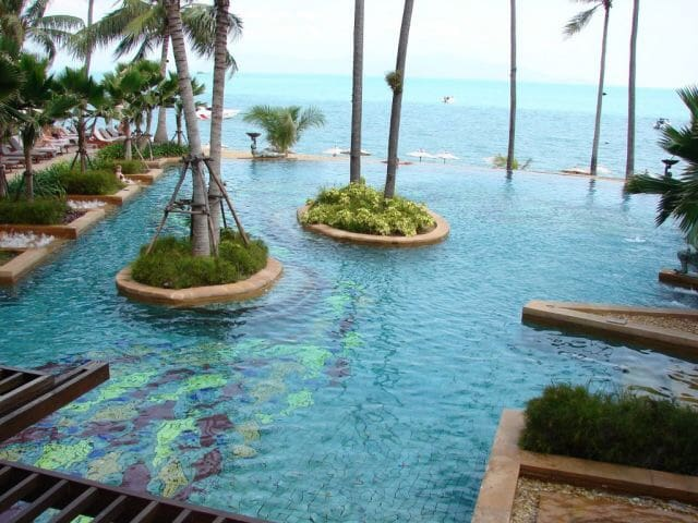Spacious luxury 2 BR apt, Bophut beachfront - Ko Samui - Appartement
