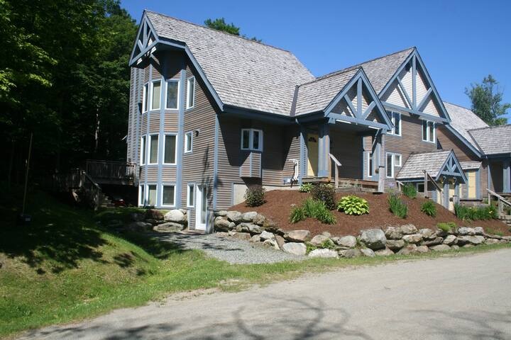 Luxury ski-in/ski-out 5-bed/4-bath townhouse
