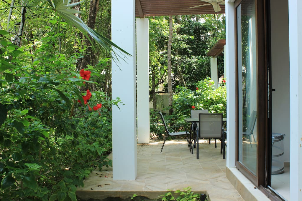 Master Bedroom Access to Terrace