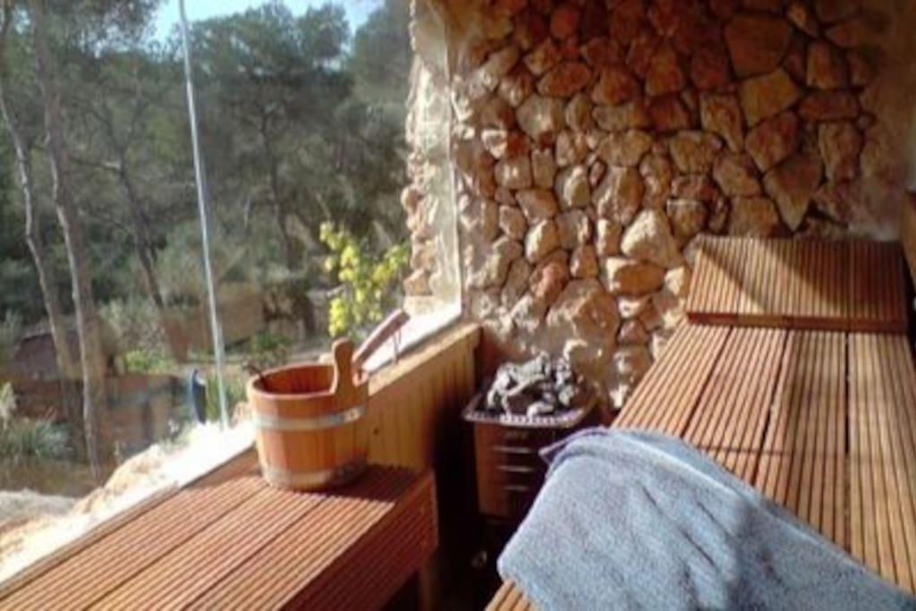 Sauna zur gemeinsamen Nutzung
