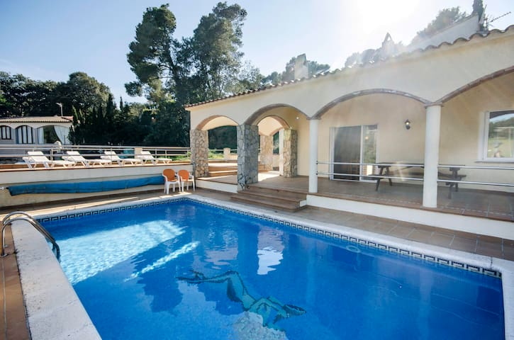 House with swimming pool on the Costa Brava - Pals - House