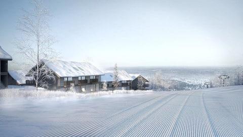 Ski in/ski out, Novo apartamento em Sälen/Lindvallen