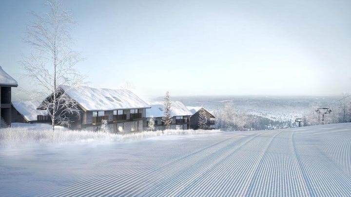 Ski in/ski out, New apartment in Sälen/Lindvallen