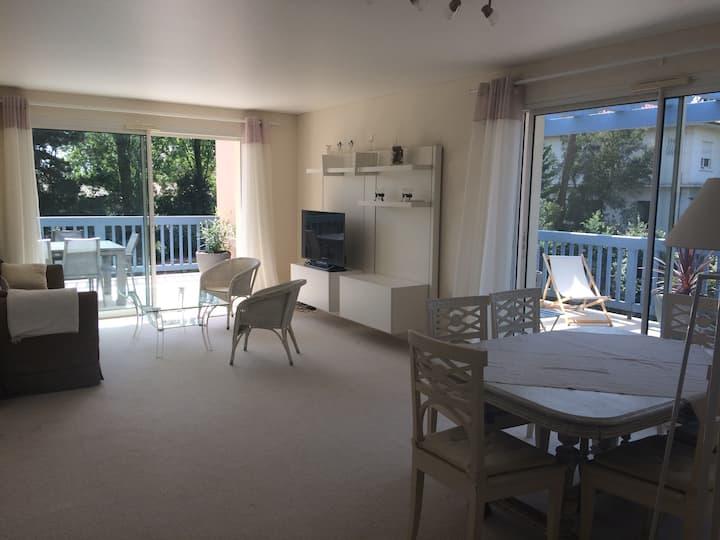 Appartement de charme Hossegor centre 4p au calme