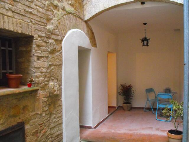 Central royal residence. Pienza. Free wifi. - Pienza - Pis