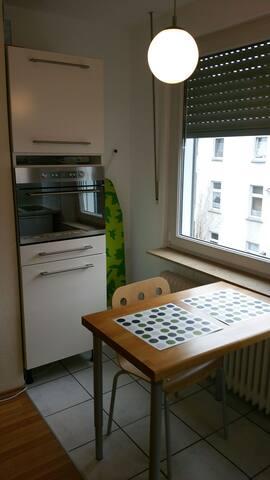 Der Esstisch in der Küche