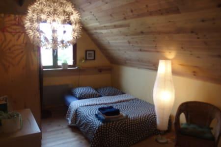 Schönes Zimmer für 2 auf Hof Mellon - Plouguernével