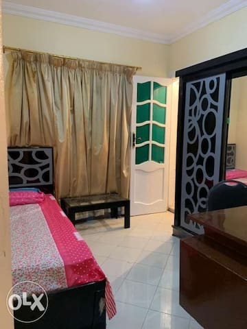 Beautiful room fully furnitured,clima in nasr City