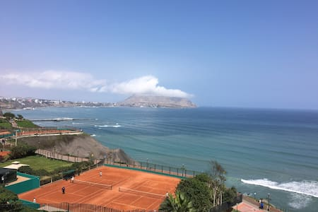 Ocean View Apartment in Miraflores - Amazing View! - Distrito de Miraflores - Wohnung