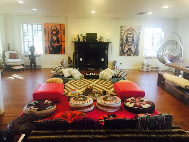 Beautiful soulful meditation yoga temple retreat - Croton-on-Hudson - Casa