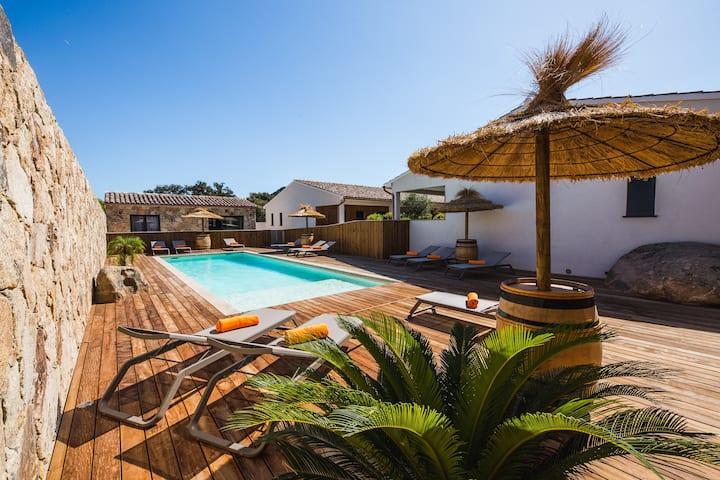 Petra d'Oro: Villa Palombaggia -3 Chambres - 2 SDB