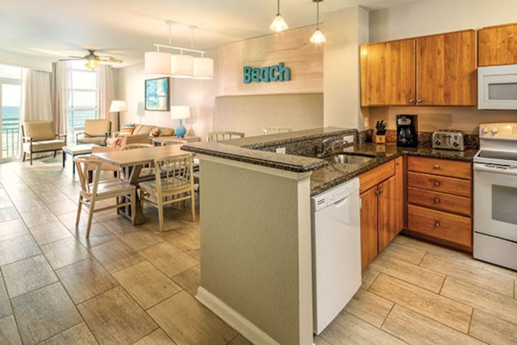 Kitchen, Living Room (room decor and views varies, check guest certificate registration)