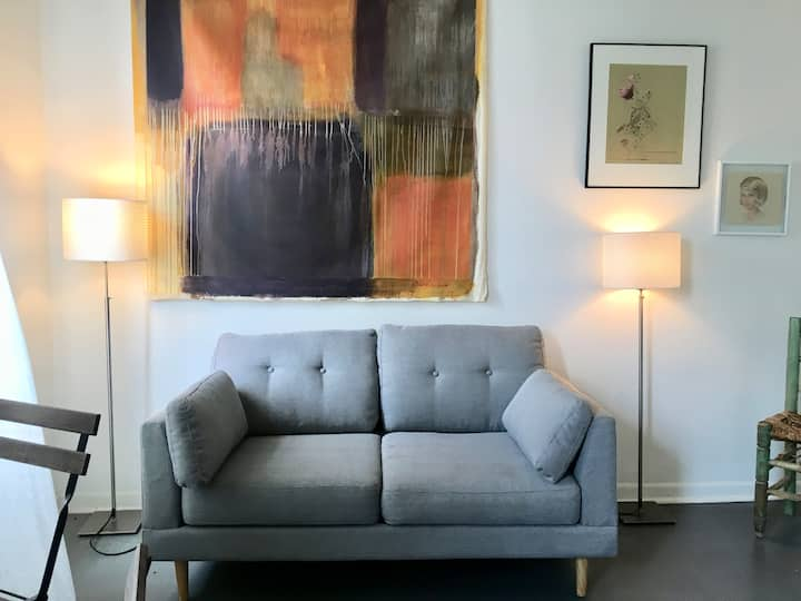 Elegant Arty Studio in the heart of Brooklyn