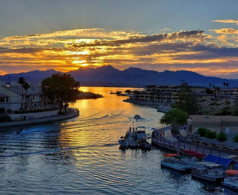 Nothing as beautiful as our Lake Havasu sunsets!