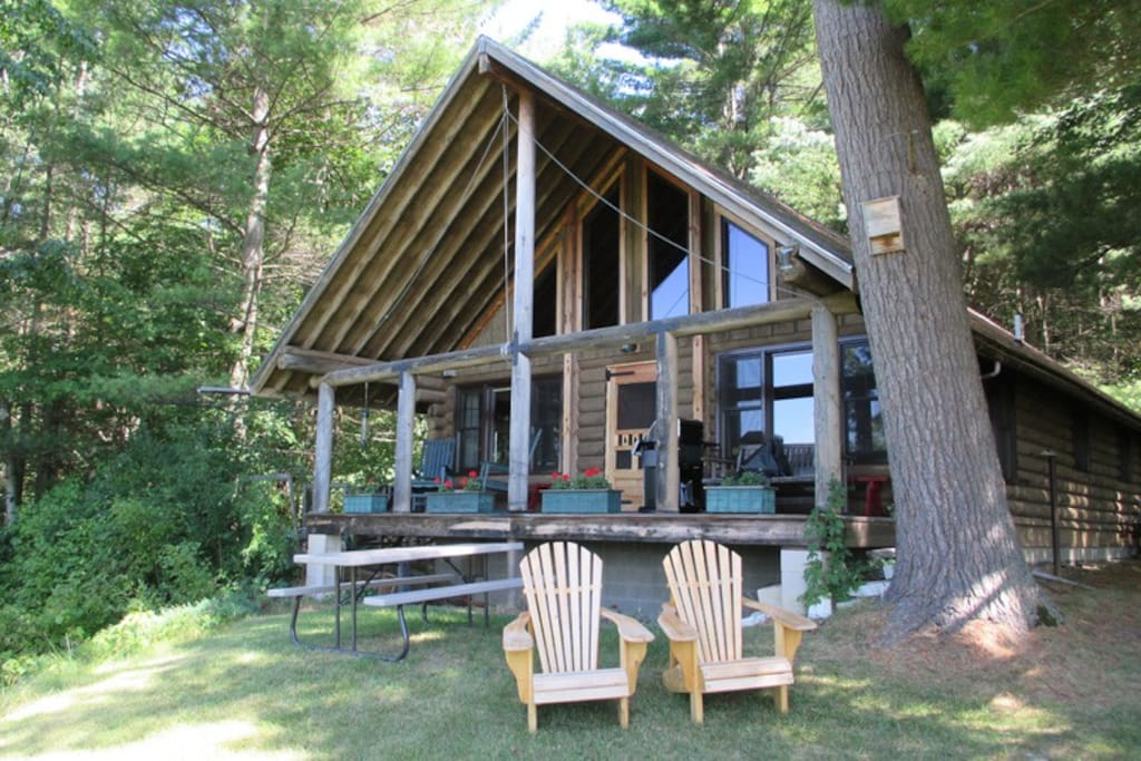 Vermont Log Cabin Brandon Cabins For Rent In Pittsford