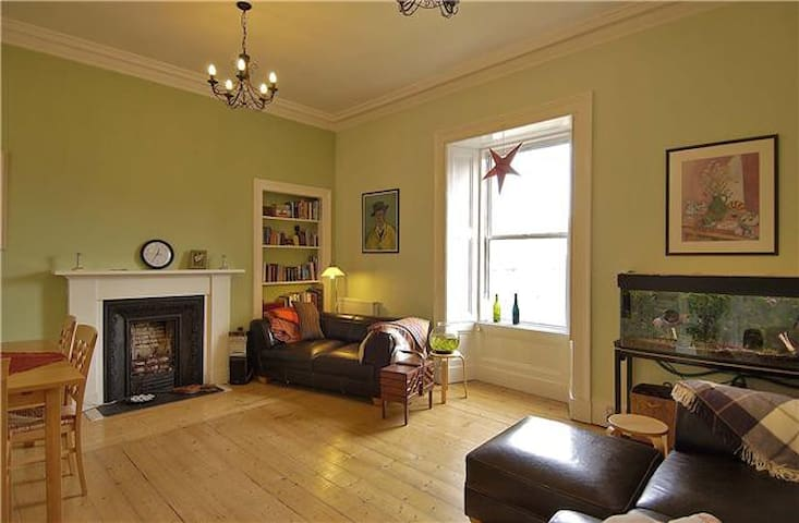 Stunning bright spacious central Edinburgh flat - Edinburgh - Apartment