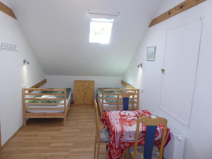Unterkunft im Stile einer Herberge, Zimmer 3
