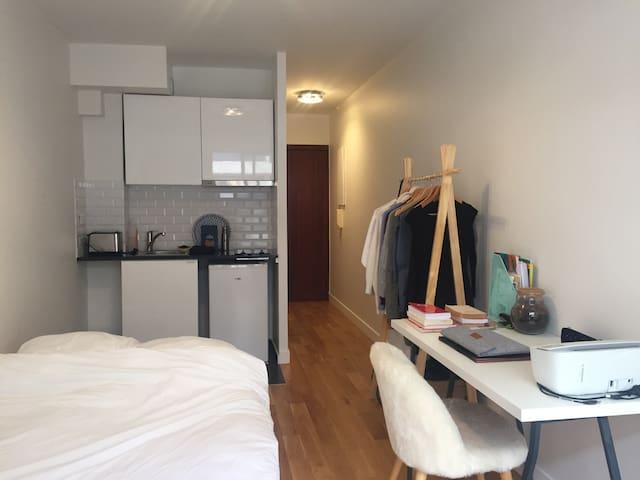 Studio cosy avec balcon au coeur de Paris