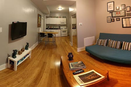 Updated, Convenient, Tidy Flat in Pilsen - Chicago
