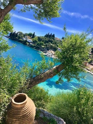 Panoramic view - property 8 persons - Λόγγος - Appartement