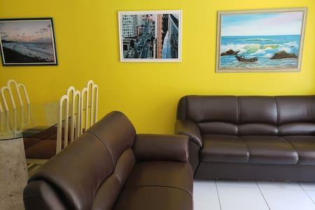 Ap mobiliado Calhau Cohama 2 qts 2 wcs wifi