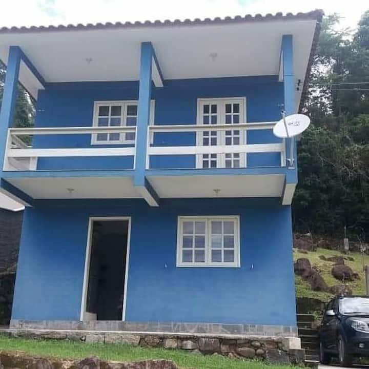 Casa com lareira no Siriú - Garopaba/SC!