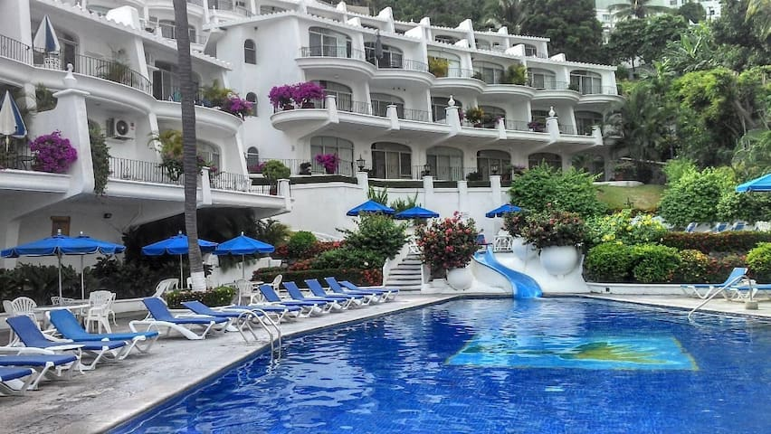 Cozy apartment with beach view - Manzanillo - Leilighet