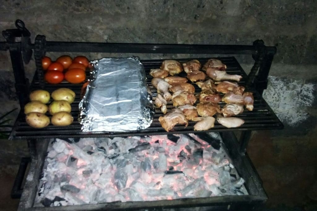Nyama Choma / BBQ / braai /Barby done our way.