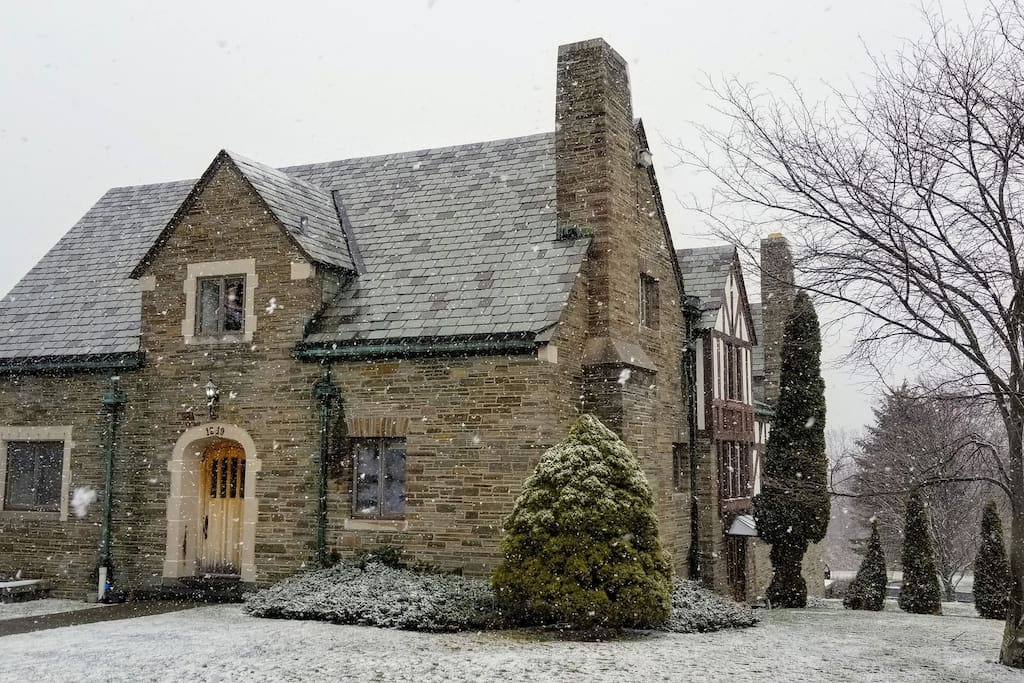 Winter at the Grand Manor