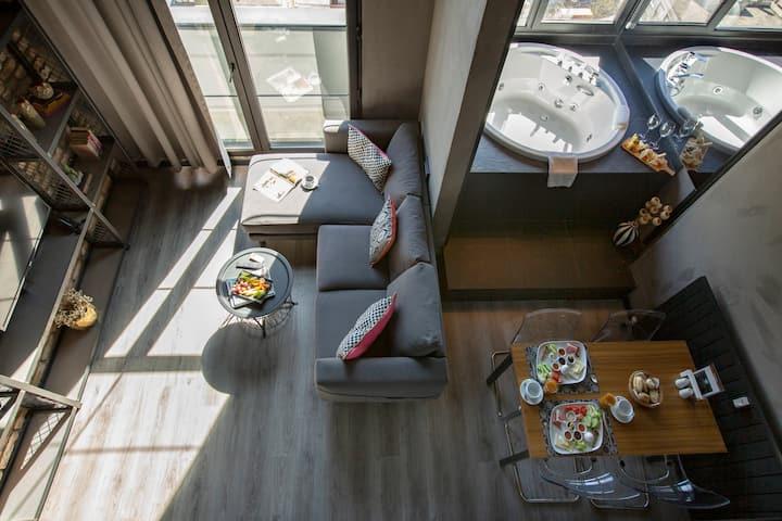 Cityloft 161, Loft Suite With Jacuzzi / Ataşehir