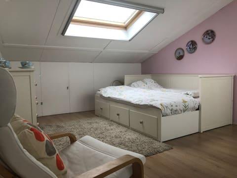 Lovely bedroom in Houten, near Utrecht