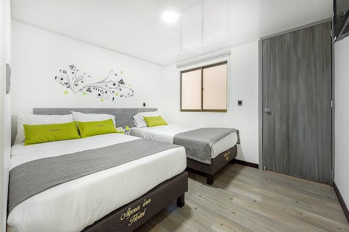 Ayenda 1024 Agora Inn, Triple Room