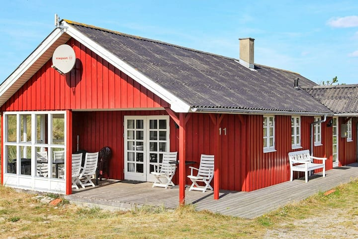 Quaint Holiday Home in Hvide Sande with Sauna