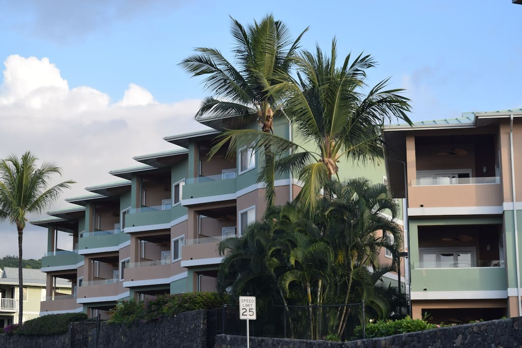 View of Condo Complex from the Street.