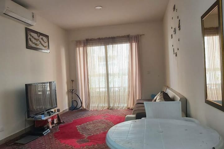 Comfortable big flat, with pleasant view (shared)