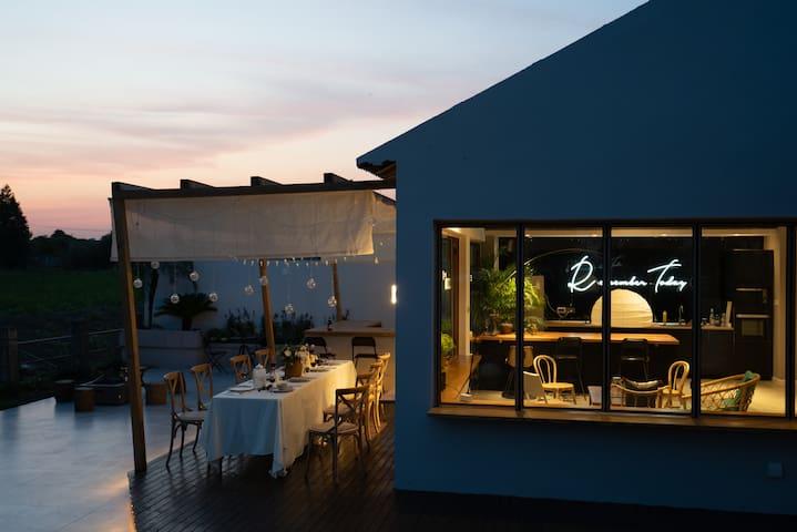 雀的花园 设计民宿 「梦压星河 」 迪士尼度假区 | 泡浴|野餐|庭院|家庭享|近2号线11号线地铁