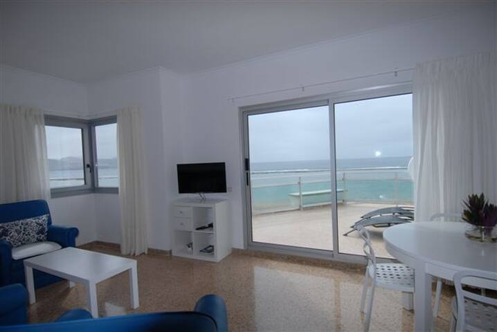 En la playa de Las Canteras , amplio apartamento - Las Palmas de Gran Canaria - Wohnung