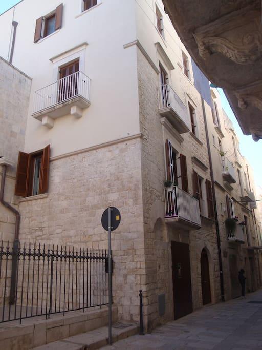 Palazzo Muscati Via Piazza