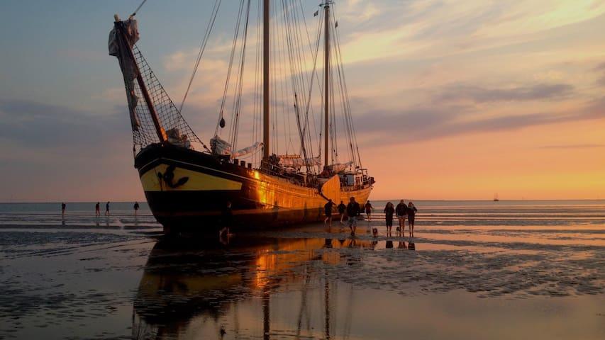 OEROL Boat&Breakfast Terschelling Klipper Iselmar