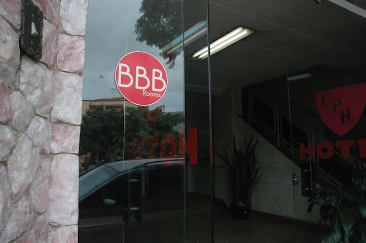 BBB Rooms Estação da Luz Individual - San Paolo - Bed & Breakfast