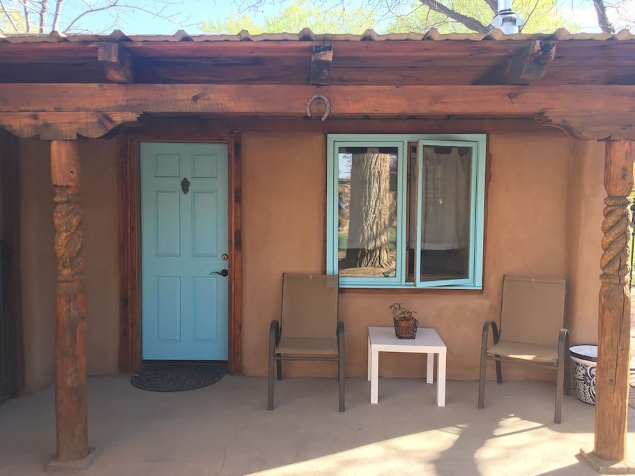 The front entrance to your casita.