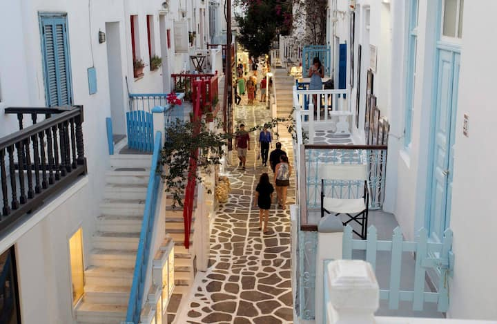 Luxury apartment in the heart of Mykonos town