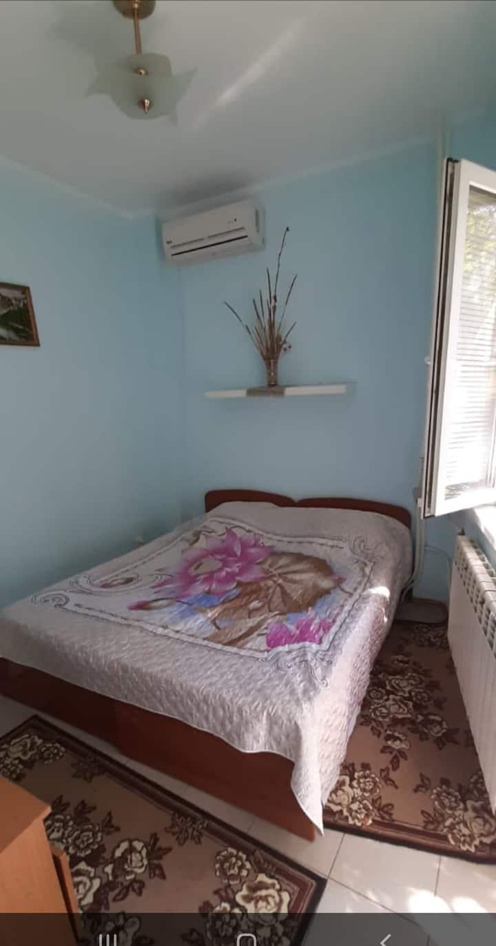 Гостевой дом в Анапе в 10 мин. до пляжа, комнаты