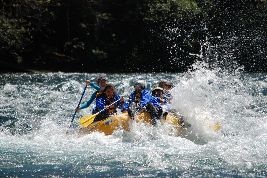 McKenzie Rafting, fun for the whole family, age 5 and up!