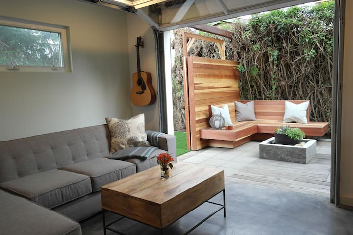 In/Outdoor Sanctuary in Ocean Beach - San Diego - Hus