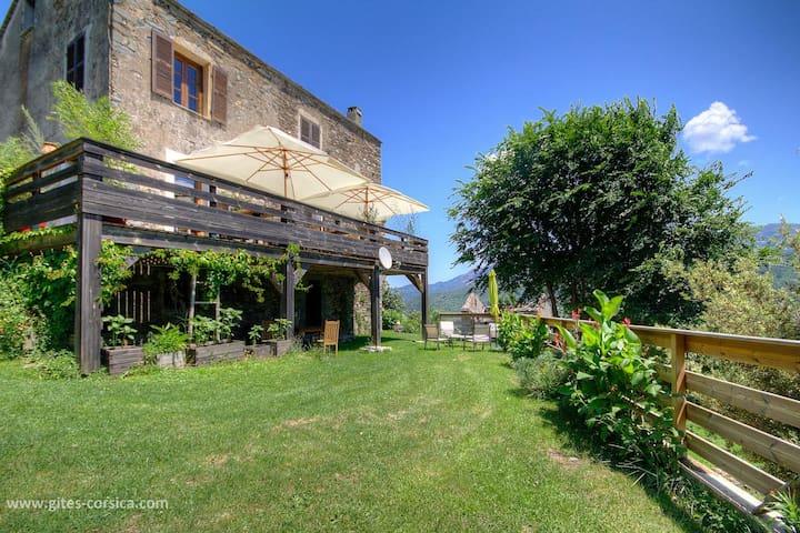 Elu plus belle Maison d'hôtes de Corse - Simple