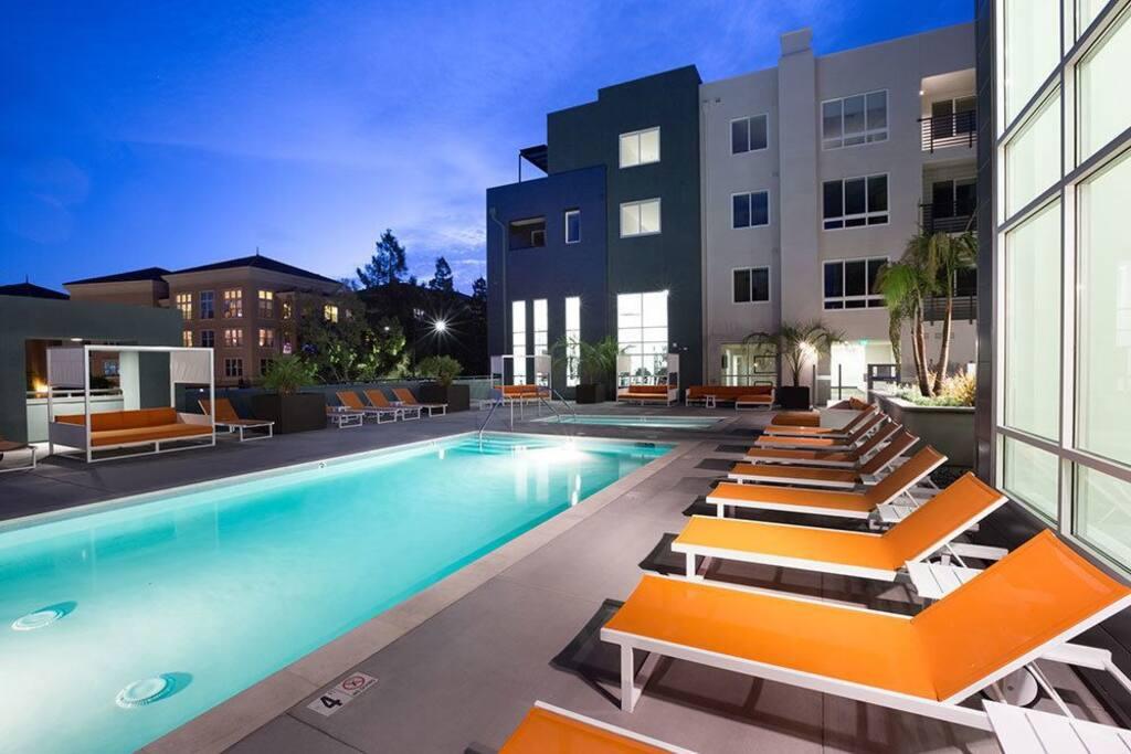 Luxurious 1 Bedroom Apartment Near Levi 39 S Stadium Apartments For Rent In San Jose California