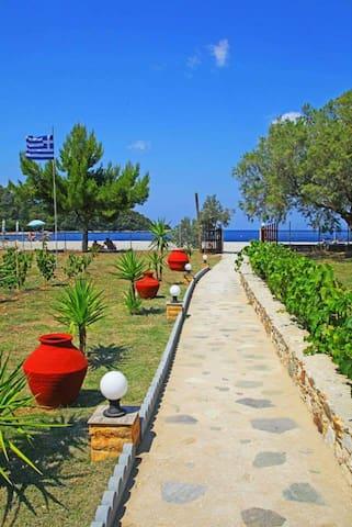 Pelagos Beachfront Apartment C - Nea Ionia - Apartment