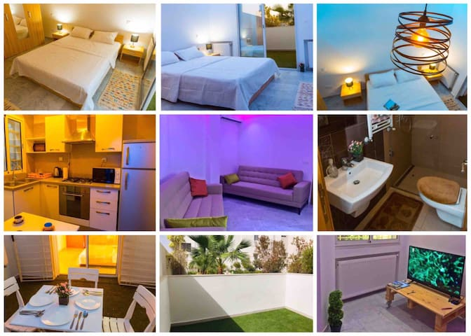 !!40% off!! Cosy flat with nice terrace and b.fast